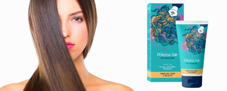 Đẹp và khỏe mạnh tóc qua mặt nạ Princess Hair là gì