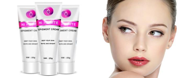Hi white cream – tự nhiên thành phần cho sự an toàn tối đa