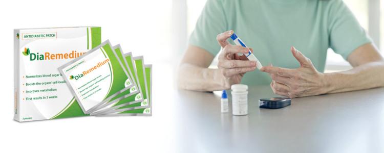 DiaRemedium – tác dụng nhanh, không có tác dụng