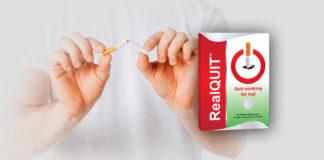 RealQuit - ý kiến, các hiệu ứng tác dụng phụ, đánh giá mà anh có thể mua